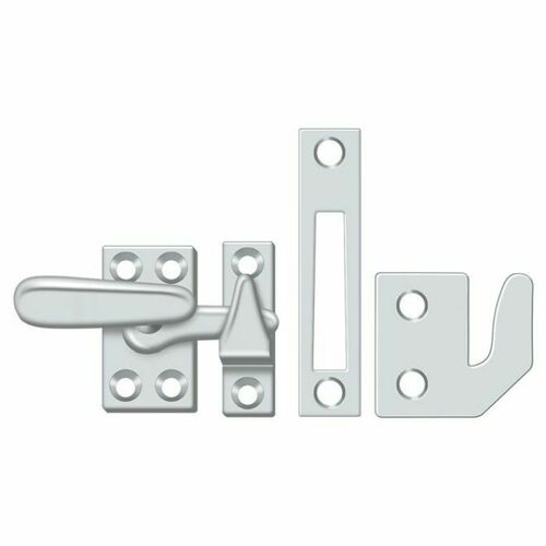 Deltana CF066U26 Window Lock, Casement Fastener, Small, Polished Chrome