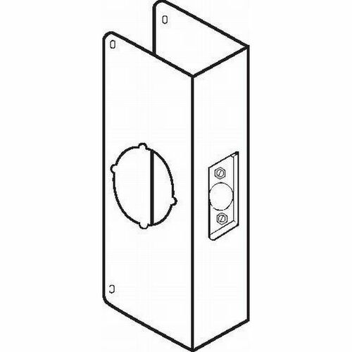 Don-Jo CW200CPB Classic Wrap Around for Thick Doors with 2-3/8
