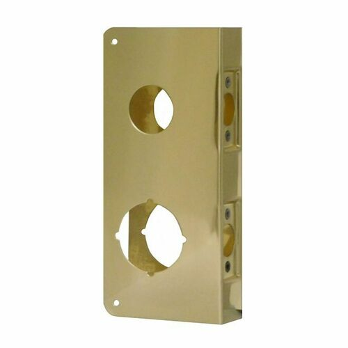 Don-Jo CW484PB Classic Wrap Around for Double Lock Combination Locksets with 2-1/8