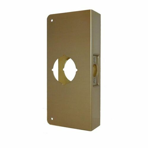 Don-Jo CW4AB Classic Wrap Around for Cylindrical Door Locks with 2-3/4