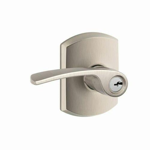 Schlage F51AMER619GRW Tubular Lock