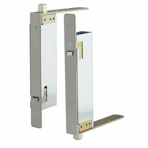 Ives FB41P32D Pair of Automatic Flush Bolts for Wood Doors Satin Stainless Steel Finish