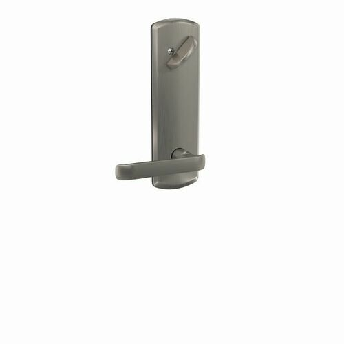 Schlage FCT59CYB619GRW Clybourn Lever with Greenwich Escutcheon Interior Active Trim with 16680 Latch and 10269 Strike Satin Nickel Finish