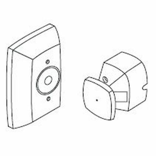 Rixson FM998A3 Extended Wall Mounted Electromagnetic Door Holder Aluminum Finish