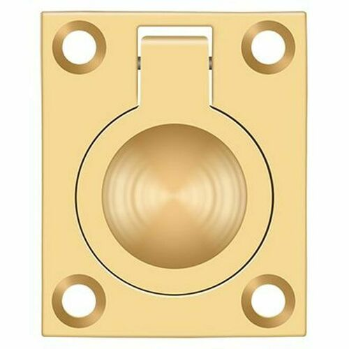 Deltana FRP175CR003 Flush Ring Pull, 1-3/4