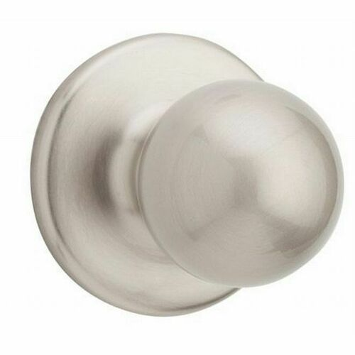 Weiser Lock GAC9675Y15 Interior Yukon Single Cylinder Active Handleset Trim with Round Corner Adjustable Latches and Round Corner Strikes Satin Nic...