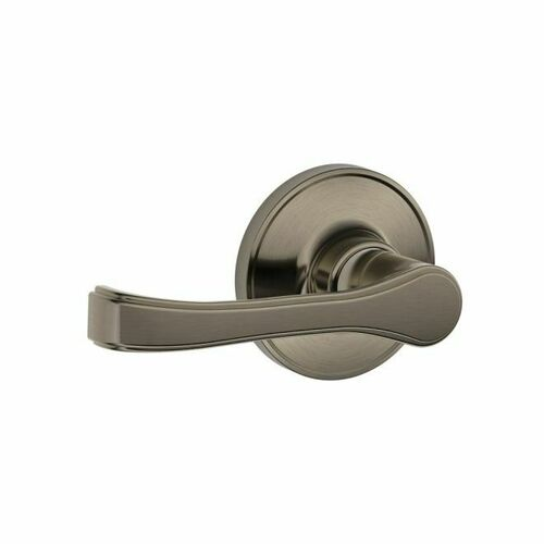 Dexter J10TOR620 Passage Lock Torino with Adjustable Latch and Radius Strike Antique Nickel Finish