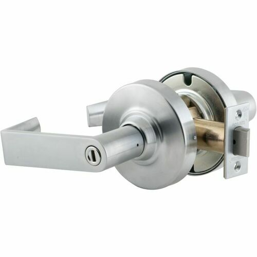 Schlage ND40RHO626 ND Series Privacy Rhodes with 13-248 Latch 10-025 Strike Satin Chrome Finish