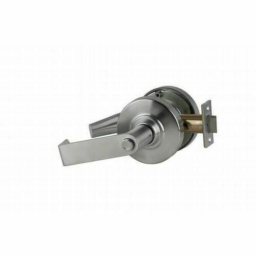 Schlage ND44RHO626 ND Series Hospital Privacy Rhodes with 13-248 Latch 10-025 Strike Satin Chrome Finish