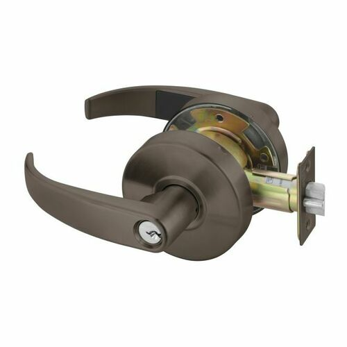 Yale PB4607LN613E Office Entry Pacific Beach Lever Grade 2 Cylindrical Lock with Para Keyway Oil Rubbed Bronze Finish