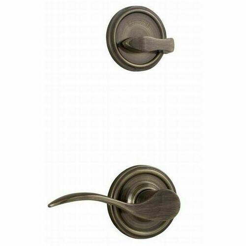 Weslock R2100--UASL20 Right Hand Bordeau Interior Single Cylinder Handleset Trim for Lexington or Colonial with Adjustable Latch and Round Corner S...