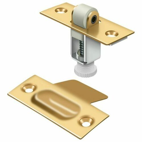 Deltana RCA336CR003 Roller Catch, PVD Polished Brass